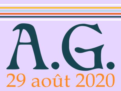 A.G. 29 août 2020